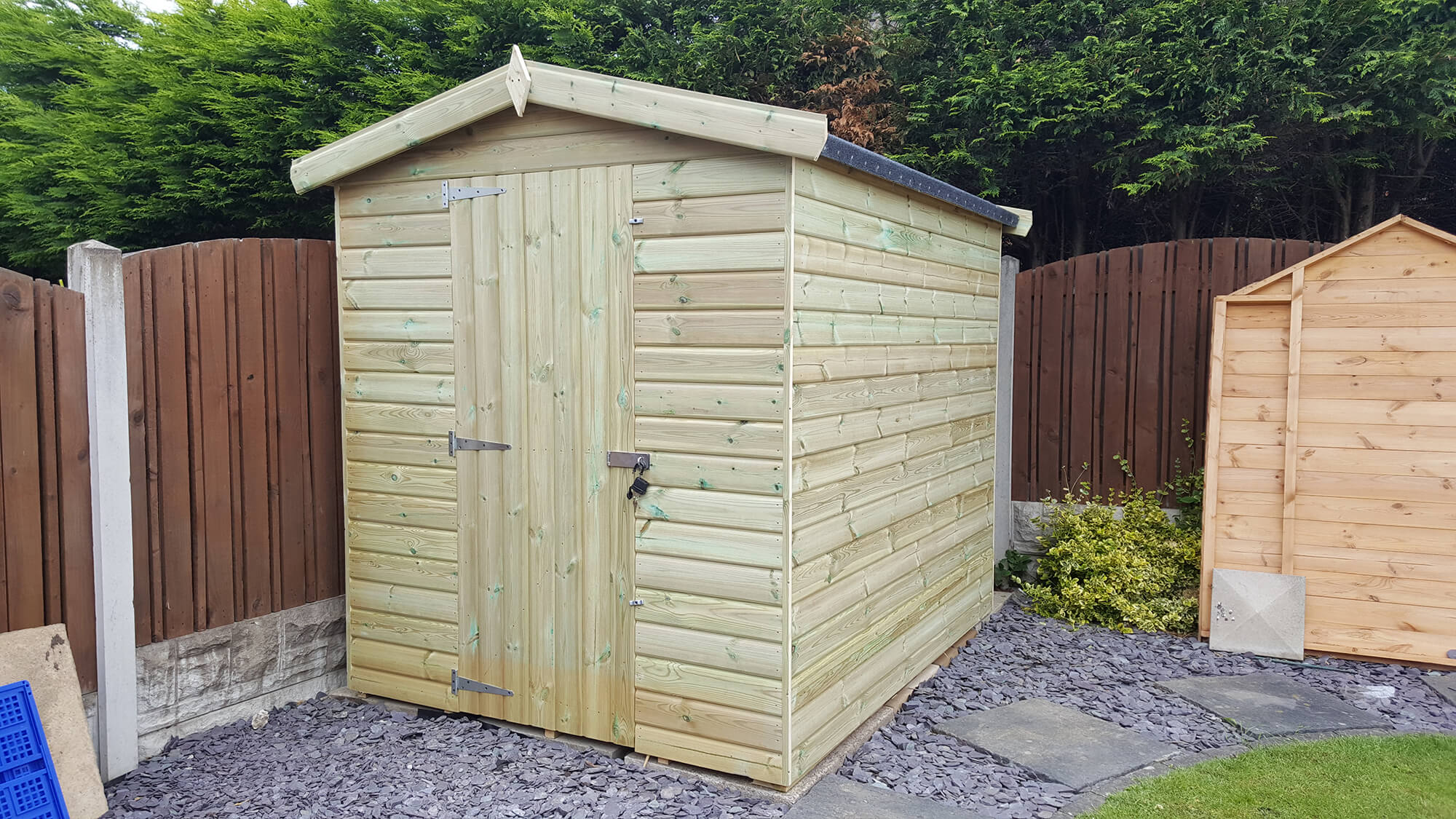 Building A Shed Base On Uneven Ground Garden Shed Tips